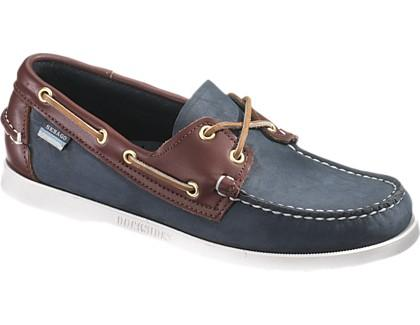 Sebago Spinnaker Navy/Brown
